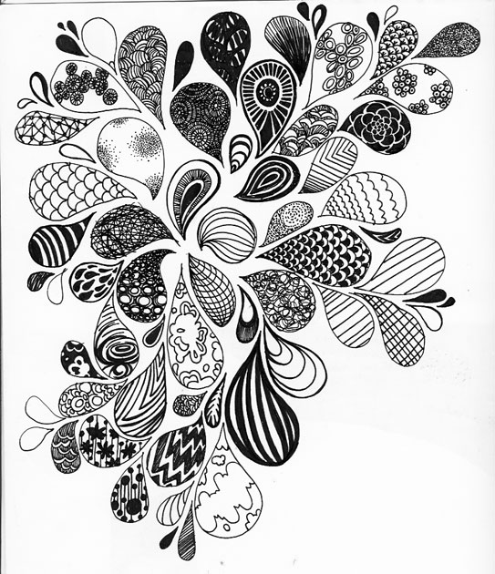 Line Drawing Zentangle : Gt inspire itsybitsybrianna